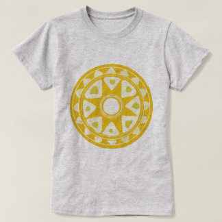 folk yellow sun T-Shirt