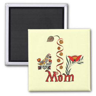 Folkart Mom T-shirts and Gifts Square Magnet
