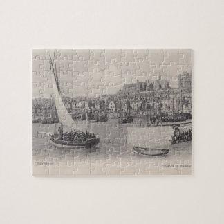 Folkestone Harbour 1905 Jigsaw Puzzle