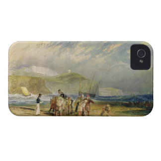Folkestone Harbour and Coast to Devon, c.1830 (w/c iPhone 4 Cover