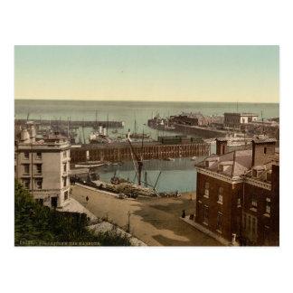 Folkestone Harbour Kent England Postcards