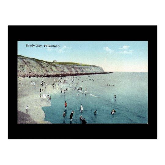 Folkestone, Sandy Bay Postcard