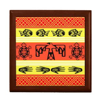 Folklore design gift box