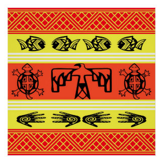 Folklore design posters