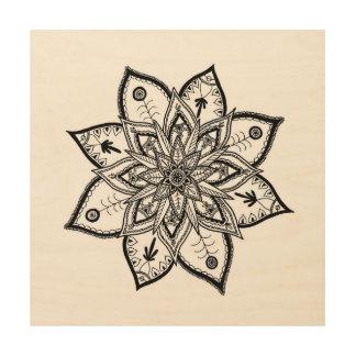 Folklore Floral Mandala Wall Art