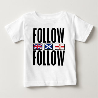 Follow Follow 3 Flags Baby T-Shirt