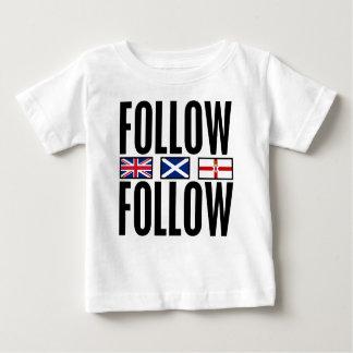 Follow Follow 3 Flags Tee Shirt