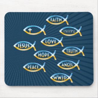 Follow Him | Christian Community Mouse Mat