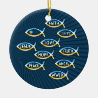 Follow Him - Christian Ornament