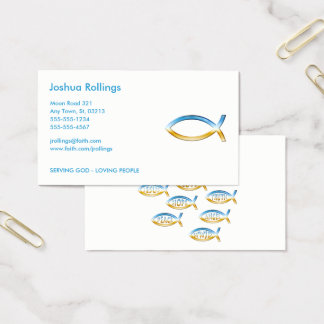 Follow Jesus | Share your Faith Business Card