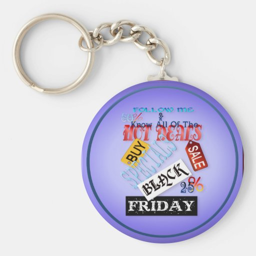 Follow Me-Black Friday Keychains