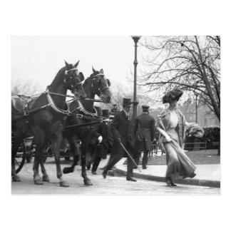 Follow Me Boys, 1908 Postcard