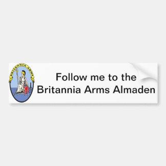 Follow Me! Car Bumper Sticker