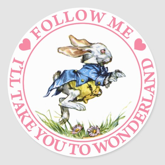 FOLLOW ME - I'LL TAKE YOU TO WONDERLAND!