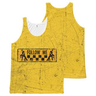 Follow ME more dancer All-Over Print Tank Top