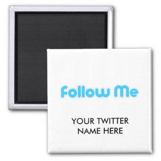 follow me (twitter) magnet