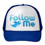 Follow Me Twitter Mr Funny Parody Cap