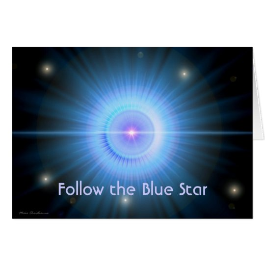 Follow the Blue Star HOME Card