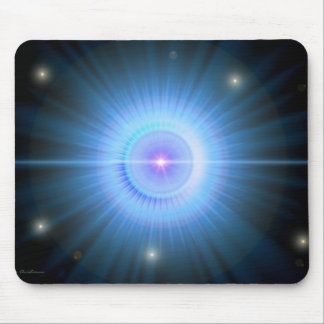 Follow the Blue Star HOME Mouse Mat