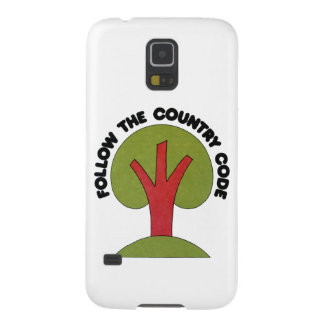 Follow The Country Code Samsung Galaxy Nexus Covers