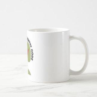 Follow The Country Code Coffee Mugs