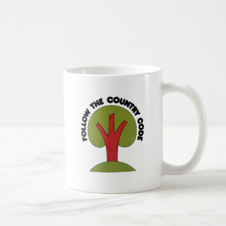 Follow The Country Code Mug