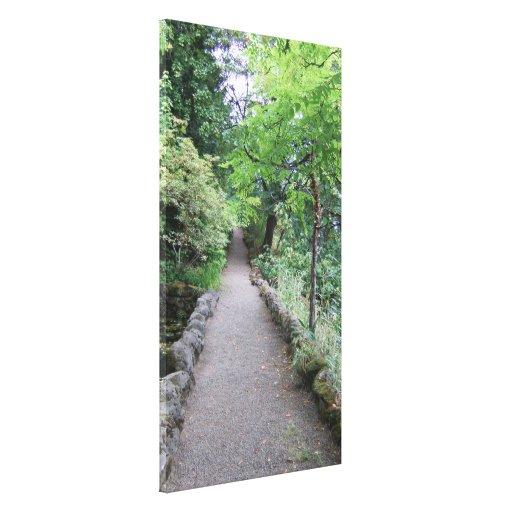 Follow the Path That Your Heart Longs to Take Stretched Canvas Prints