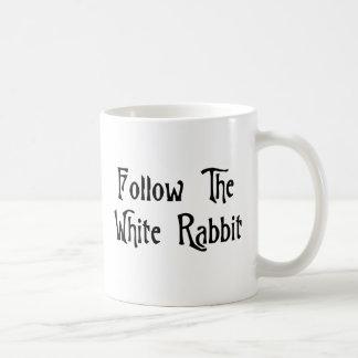 Follow The White Rabbit Coffee Mug