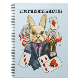 follow the White Rabbit Notebook