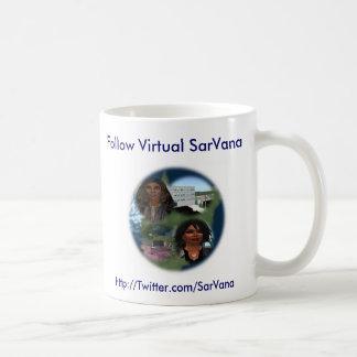 Follow Virtual SarVana Coffee Mug