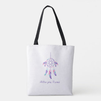 Follow Your Dreams Bohemian Tote Bag