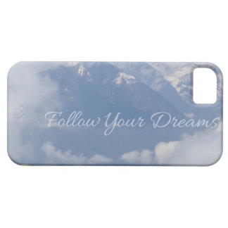 Follow Your Dreams custom iPhone cases