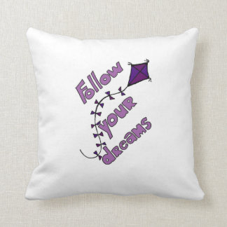 Follow your Dreams Pillow Violet