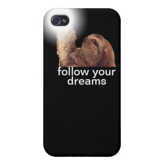 Follow your dreams - sloth case for the iPhone 4