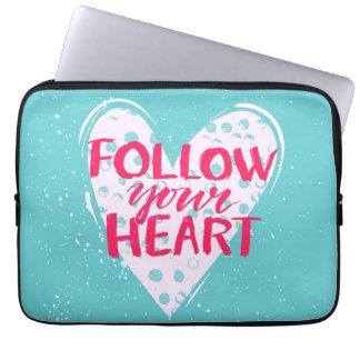 Follow Your Heart 2 Laptop Sleeve