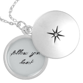 Follow Your Heart Round Locket Necklace