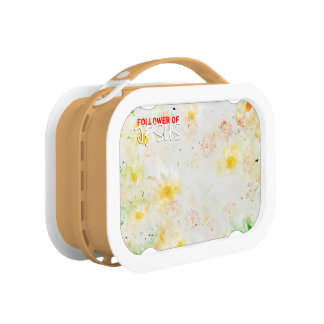 Follower Of JESUS Lunch Box