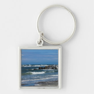 Folly Beach Atlantic Key Ring