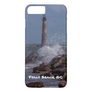 Folly Beach Lighthouse Phone Case
