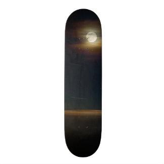 Folly Beach Night Skateboard Deck