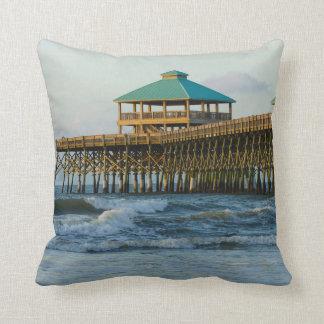 Folly Pier Morning Cushion