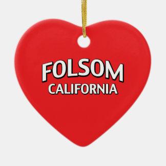 Folsom California Christmas Ornament