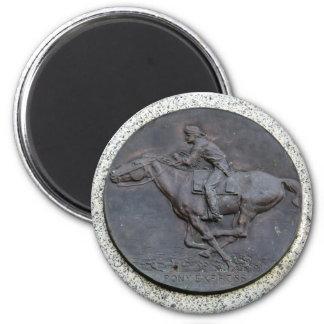 Folsom Icon: Pony Express Trail Marker Magnet