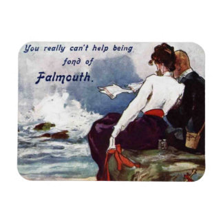 Fond of Falmouth magnet
