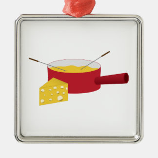Fondue Christmas Ornament