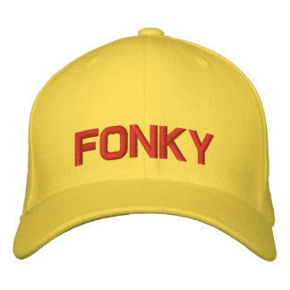 FONKY EMBROIDERED BASEBALL CAPS