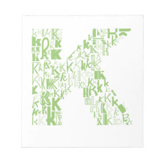 Font Fashion K Notepad
