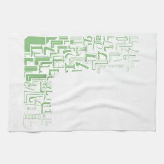 Font Fashion L Tea Towel