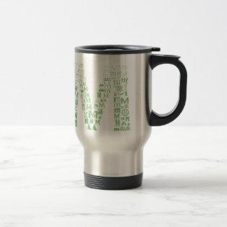 Font Fashion M Travel Mug