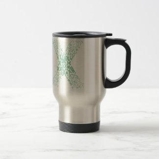 Font Fashion X Travel Mug